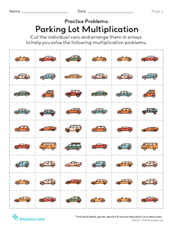 Practice Problems: Parking Lot Multiplication
