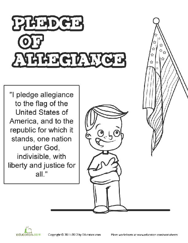 all about the pledge of allegiance lesson plan. Black Bedroom Furniture Sets. Home Design Ideas