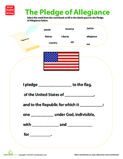 pledge of allegiance analysis
