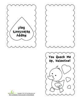 Duck Valentine
