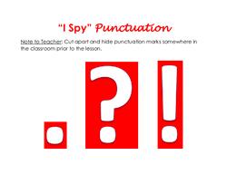 I Spy Punctuation