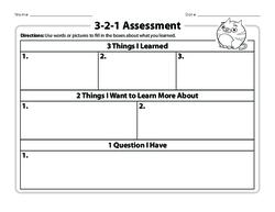 3-2-1 Assessment