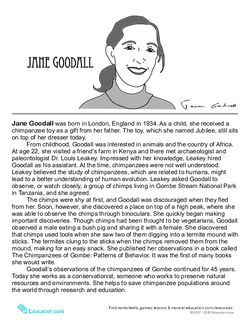 Jane Goodall Biography