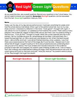 Red Light, Green Light Story