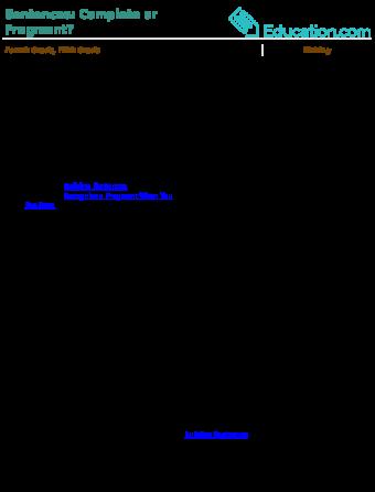 Complete Sentences Vs Fragments Education