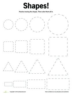 Shape Up Identifying Shapes Lesson Plan Education Com
