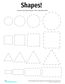 Tracing Basic Shapes