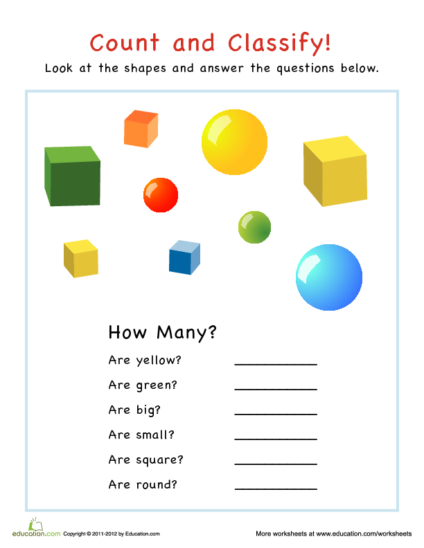 Shapes Numbers And Letters Oh My Lesson Plan