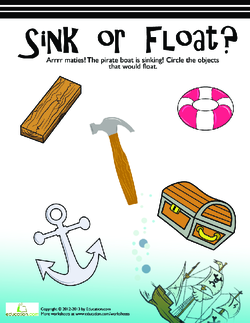 Sink Or Float Lesson Plan Education Com Lesson Plan