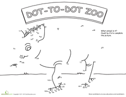 Dot to Dot Zoo