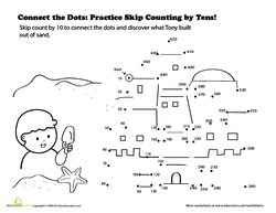 Connect the Dots: Count By Tens