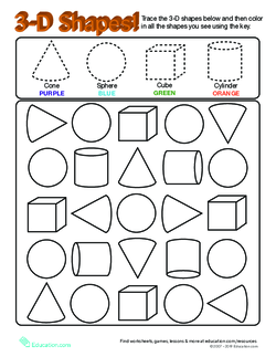 Solid Shapes: Identifying 3D Shapes | Lesson plan