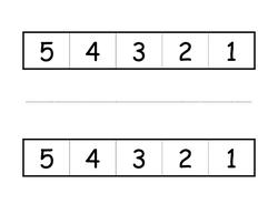 Backwards Number Line