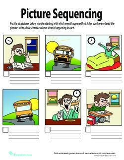Super Sequencing Lesson Plan Education Com Lesson Plan Education Com
