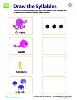 Draw the Syllables 2