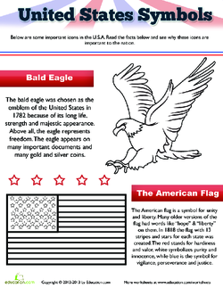 The American Flag and Eagle