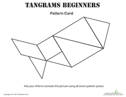 Easy Tangrams Puzzle #3