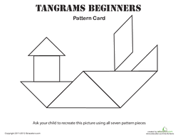 Easy Tangrams Puzzle #5