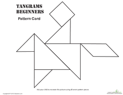 Easy Tangrams Puzzle #6