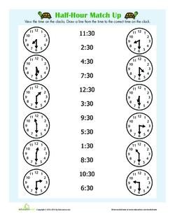 Half-Hour Match Up