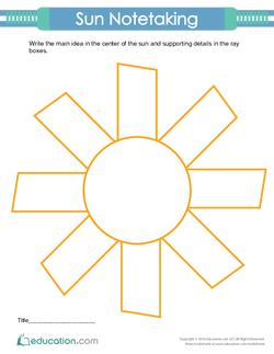 Sun Notetaking