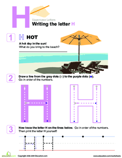 The letter h lesson plan education call the students together as a group and ask them if they can identify the letter h thecheapjerseys Images