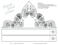 Floral Jewel Crown