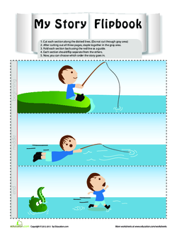 Fishing Story Flipbook