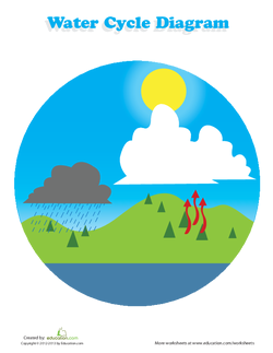 The earths water cycle lesson plan education gather your students somewhere where they can all see you ccuart Choice Image