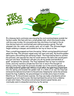 Story of the Frog Prince