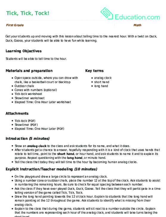 Am Or Pm Lesson Plan Education. Tick Tock. Worksheet. Jest For Fun Math Worksheet Answers At Mspartners.co
