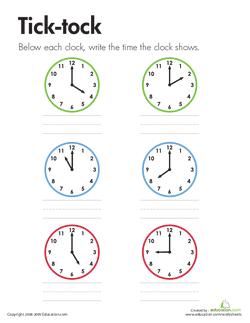 Tick-tock