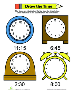 Draw the Time