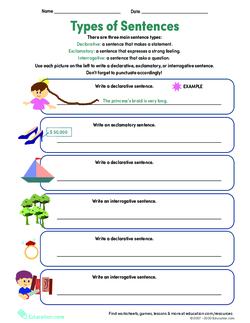 Get into Grammar: Types of Sentences