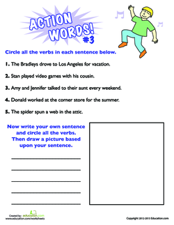 Action Words #3
