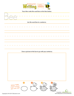 Write a Bee Sentence