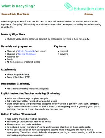 Lesson Plans for Second Grade Science | Education.com