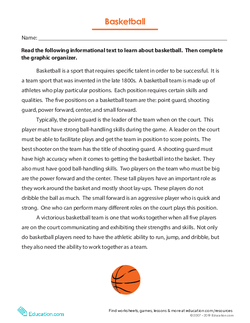 Basketball: Nonfiction Text