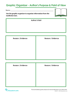 Graphic Organizer: Author