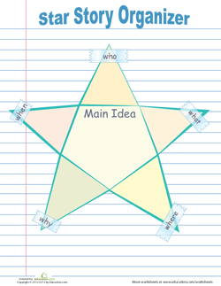 Star Graphic Organizer