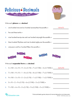 Whose Is Longer Decimals In Expanded Form Lesson Plan
