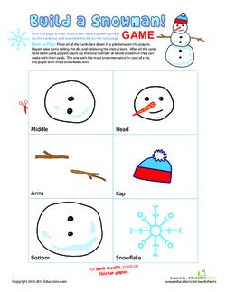 Build a Snowman! game