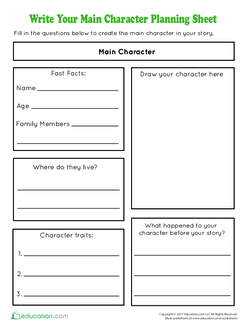 Create your own book character