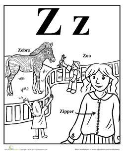 zookeeper coloring pages - photo#29