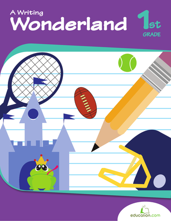 First Grade Reading & Writing Workbooks: A Writing Wonderland