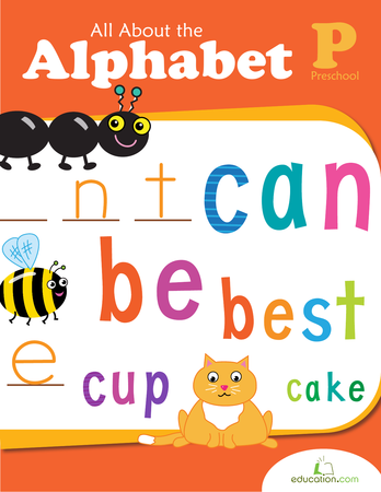 Preschool Reading & Writing Workbooks: All About the Alphabet