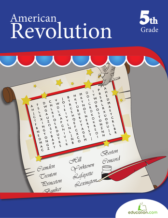 Fifth Grade Reading & Writing Workbooks: American Revolution