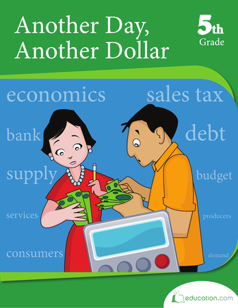 Fifth Grade Math Workbooks: Another Day, Another Dollar