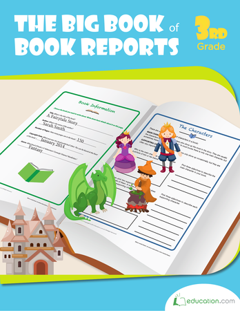 Third Grade Reading & Writing Workbooks: The Big Book of Book Reports
