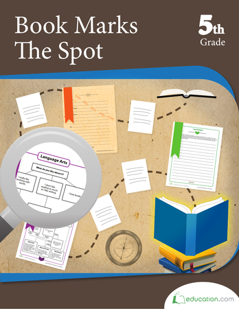 Fifth Grade Reading & Writing Workbooks: Book Marks the Spot